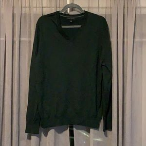 Banana Republic Green V-neck Sweater